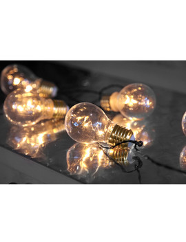 Clear Bulb Battery Light Chain by 51 Dna                                      Sold Out