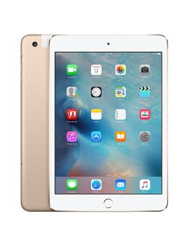 Refurbished I Pad Mini 4 Wi Fi + Cellular 128 Gb   Gold by Apple