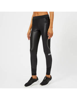 Adidas By Stella Mc Cartney Women's Run Long Tights   Black by Adidas By Stella Mc Cartney