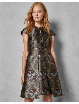Ice Palace Skater Dress by Ted Baker