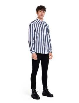 Striped Shirt <Br> Slim Fit by Scotch&Soda