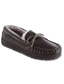 Men's Wicked Good® Moccasins, Moosehide by L.L.Bean