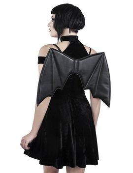 Tokyo Nights Hunter Dress [B] by Killstar