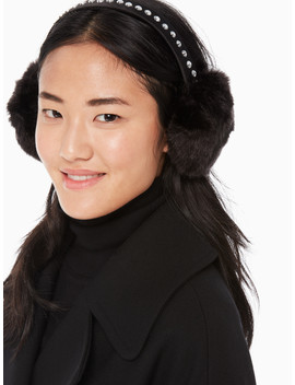 Bedazzled Earmuff by Kate Spade