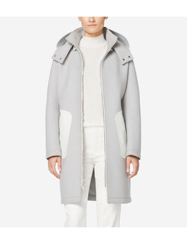 Grand.Øs Neoprene Bonded Wool Jacket by Cole Haan