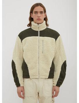 Fleece Jacket In Beige by Gmb H