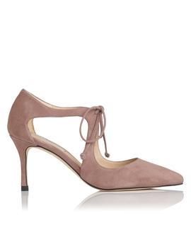 Hyelin Pink Suede Heel by L.K.Bennett