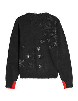 Cashmere Pullover With Glitter Stars by Zadig &Amp; Voltaire