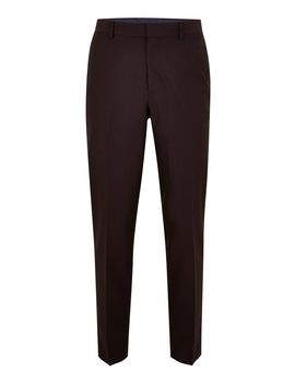 Burgundy Tonic Skinny Pants by Topman