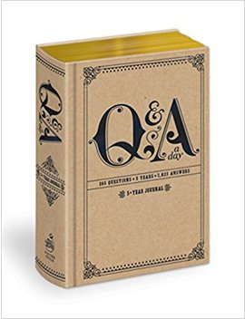 Q&A A Day: 5 Year Journal by Potter Style