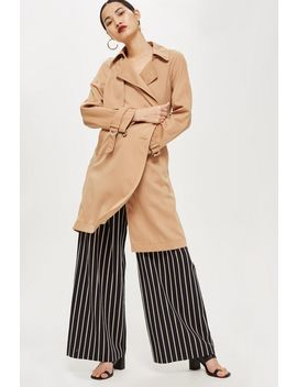 Double Breasted Trench Coat by Topshop