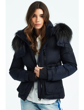 Fur Jetset Jacket by Boutique Tag, Montreal