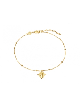Lucy Williams Beaded Coin Anklet by Missoma