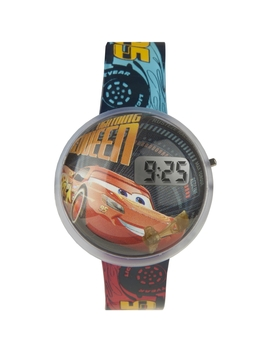 Childrens Character Disney Cars 3 Lightning Mc Queen Bubble Lcd Watch Dc315 by Character