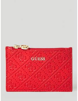 Logo Document Case by Guess