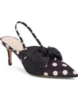 Whitney Bow Slingback Pump by Something Navy
