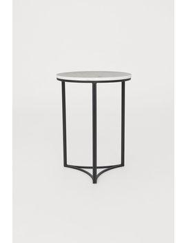 Beistelltisch Mit Marmorplatte by H&M