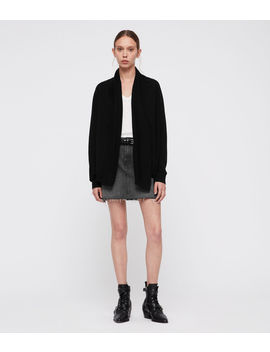 Ires Woven Cardigan by Allsaints