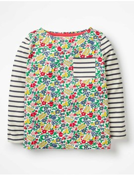 Hotchpotch Pocket T Shirt by Boden