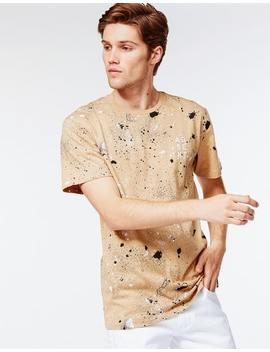 Absent William T Shirt In Tan by Hallenstein Brothers