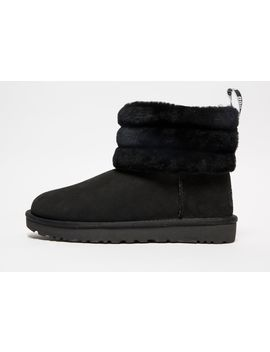 Ugg Fluff Mini Quilted Logo Boots Women's by Ugg