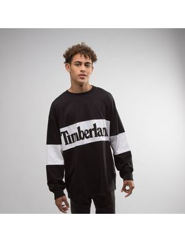 Mens Timberland Retro Long Sleeve Tee by Timberland