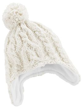 Sparkle Knit Trapper Hat by Oshkosh