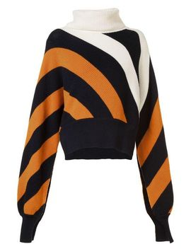Women's Striped Turtleneck Jumper by Monse