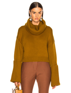 Giant Cuff Sweater by Monse