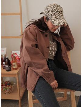 Extended Sleeve Single Tone Jacket by Stylenanda