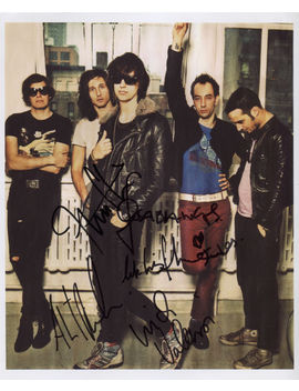 The Strokes (Band) Fully Signed Photo + Coa Lifetime Guarantee           Perfect Present!                  Great Item And Experience Overall!!                  Was As Described by Bonanza