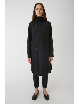 Shirt Dress Black by Acne Studios