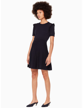 Ruffle Sweater Dress by Kate Spade