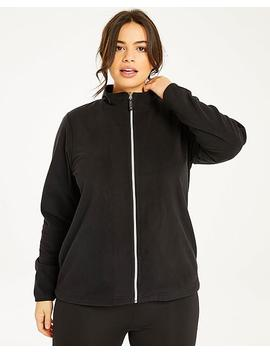 Long Sleeve Fleece Top by Simply Be