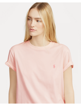 Pink Pony Big Cotton T Shirt by Ralph Lauren