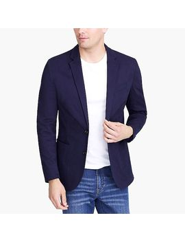 Thompson Blazer In Flex Chino by J.Crew