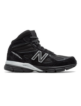 Mens 990v4 Mid Made In Us Black Panther by New Balance