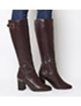 Keepers Smart Block Heel Knee Boots by Office
