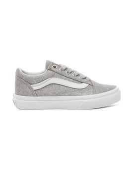 Kids Lurex Glitter Old Skool Shoes (4 12 Years) by Vans