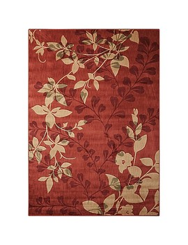 Nourison Somerset Floral Rug In Brick by Bed Bath And Beyond