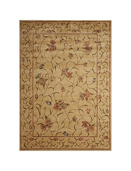 Nourison Somerset Floral Loomed Area Rug In Ivory by Bed Bath And Beyond