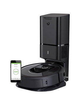 I Robot Roomba I7+ Wi Fi Robot Vacuum With Automatic Dirt Disposal (7550) by Best Buy
