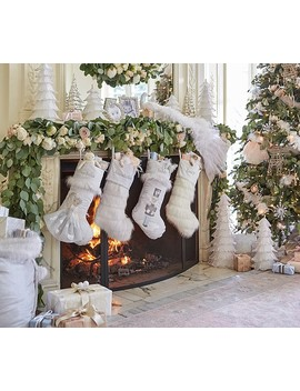 Monique Lhuillier Stocking Collection by Pottery Barn Kids