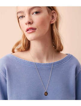 Kris Nations Good Vibes Charm Necklace by Lou & Grey