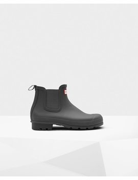 "<Span Itemprop=""Name"">Men's Original Chelsea Boots</Span>:                     <Span>Dark Slate</Span> by Hunter"