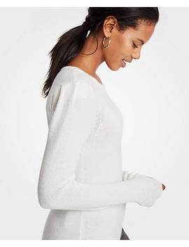 "<A Href=""Https://Www.Anntaylor.Com/Puff Shoulder Sweater/485388?Sku Id=26095523&Default Color=9192"" Tabindex=""0"">Puff Shoulder Sweater</A> by Ann Taylor"
