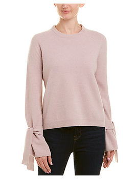 Brown Allen The Wool Blend Tie Top by Brown Allen