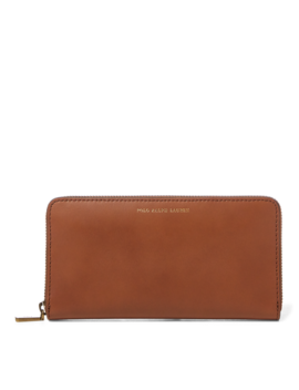 Leather Zip Around Wallet by Ralph Lauren