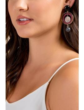 Rylee Orbital Statement Earrings by Francesca's