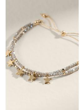 Marina Star Charm Adjustable Bracelet by Francesca's